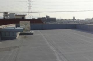 マンションの屋上