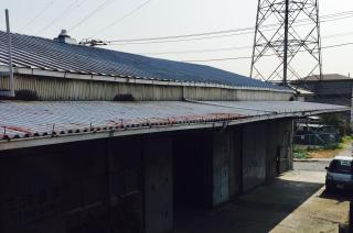 工場などの屋上
